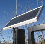 solarpanel for auto gate